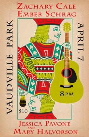 Live at Vaudeville Park – April7th
