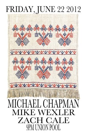 Opening for UK folk legend Michael Chapman!