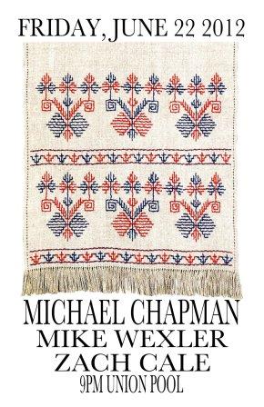 Opening for UK folk legend MichaelChapman!