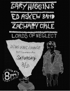 Live at Ding Dong Lounge Saturday August 25th!