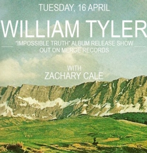 Mercury Lounge show supporting William Tyler!