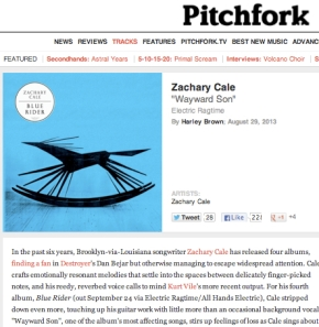 Pitchfork track review!
